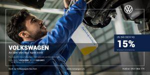 Volkswagen Saigon ưu đãi dịch vụ cuối năm cho khách hàng