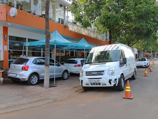VW Sài Gòn với Mobile Service